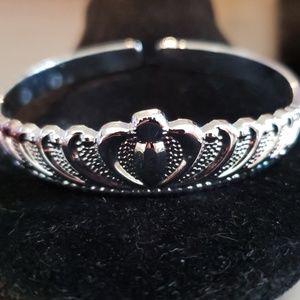 Princess Tiara Bangle Bracelet